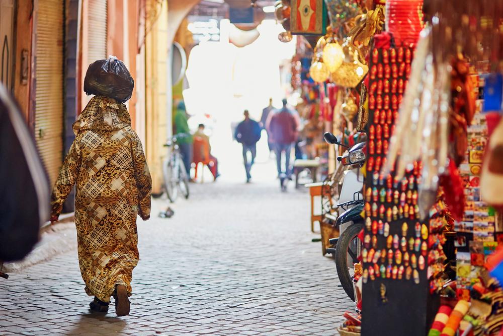 Woman in Marrakech
