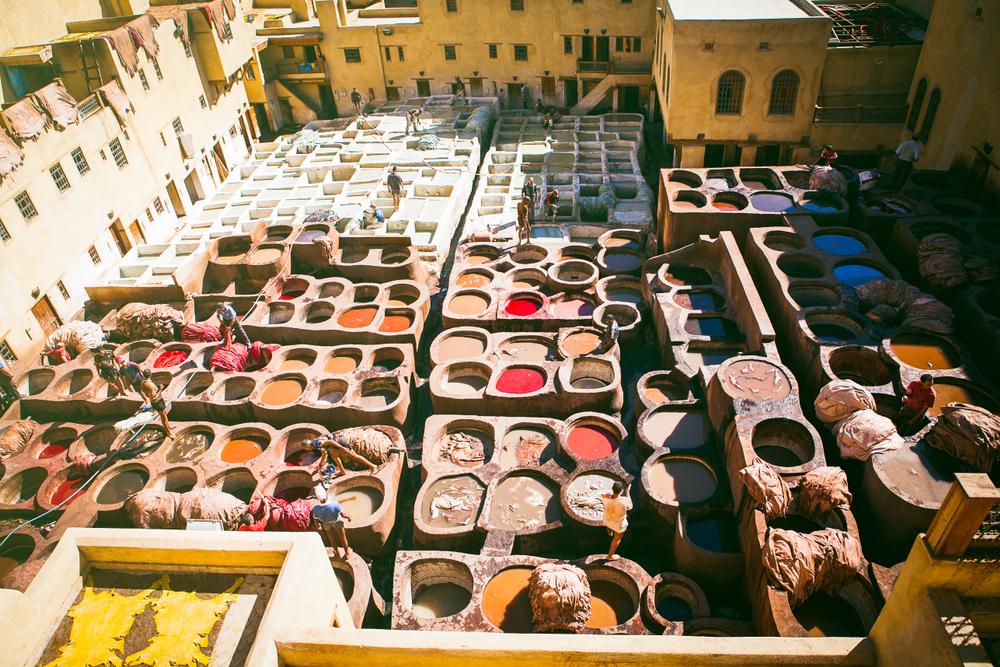 Tanneries, Marrakech